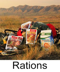 Russian MRE rations