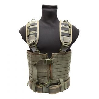 Tactical vests and body armor