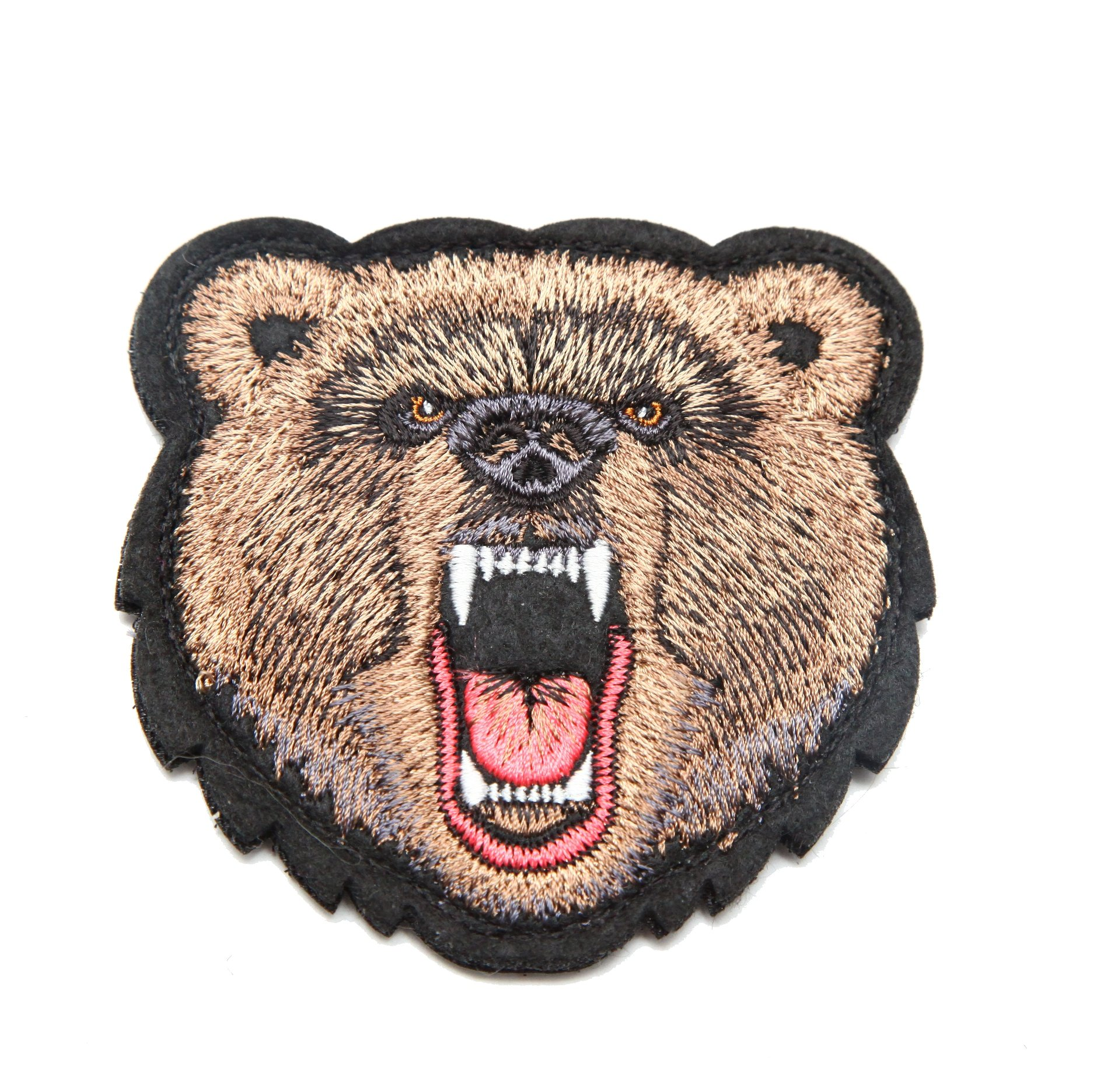Moto Patch With Angry Russian Bear Face Ivan The Bear Store